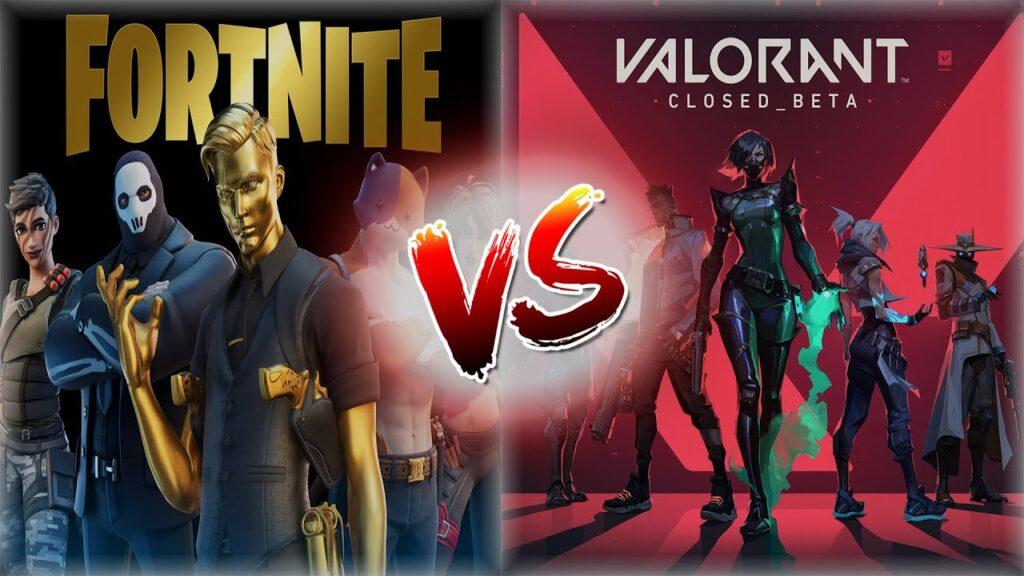 Fortnite vs Valorant