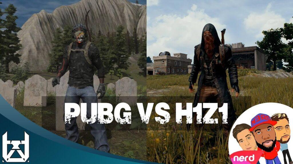 PubG vs H1z1