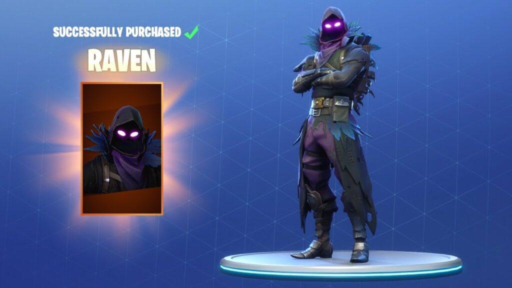 Raven Skin Fortnite