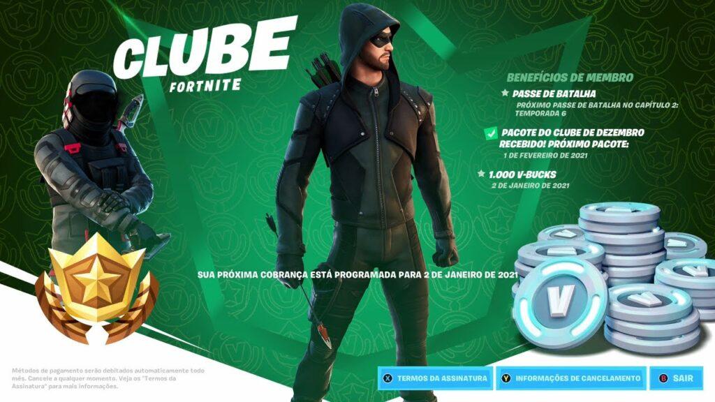 Clube Fortnite Portugal e Brasil